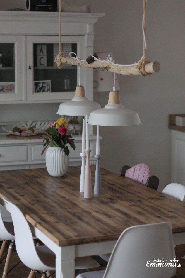 diy esszimmerlampe im scandi stil fr ulein emmama. Black Bedroom Furniture Sets. Home Design Ideas