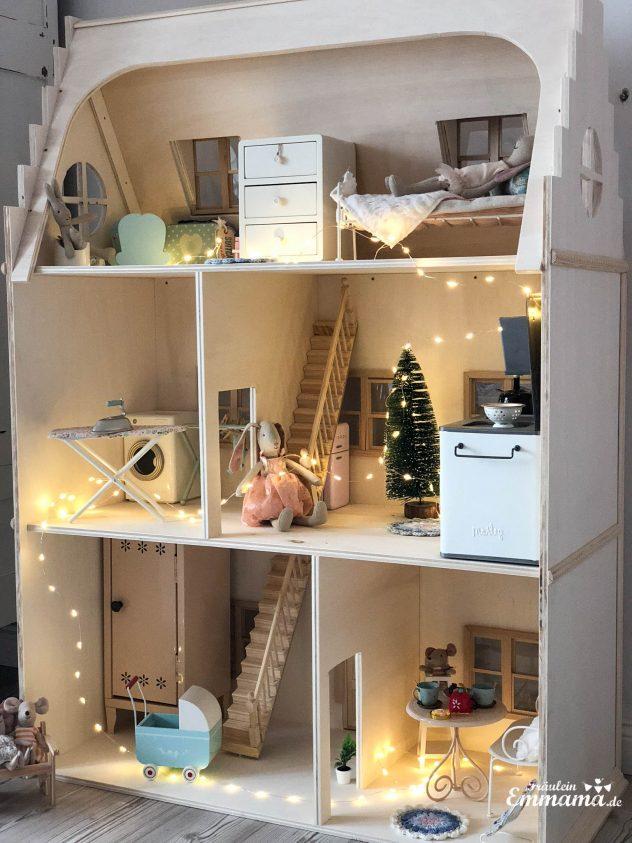 Fabulous DIY: Puppenhaus im viktorianischen Stil für Maileg selber bauen PD45