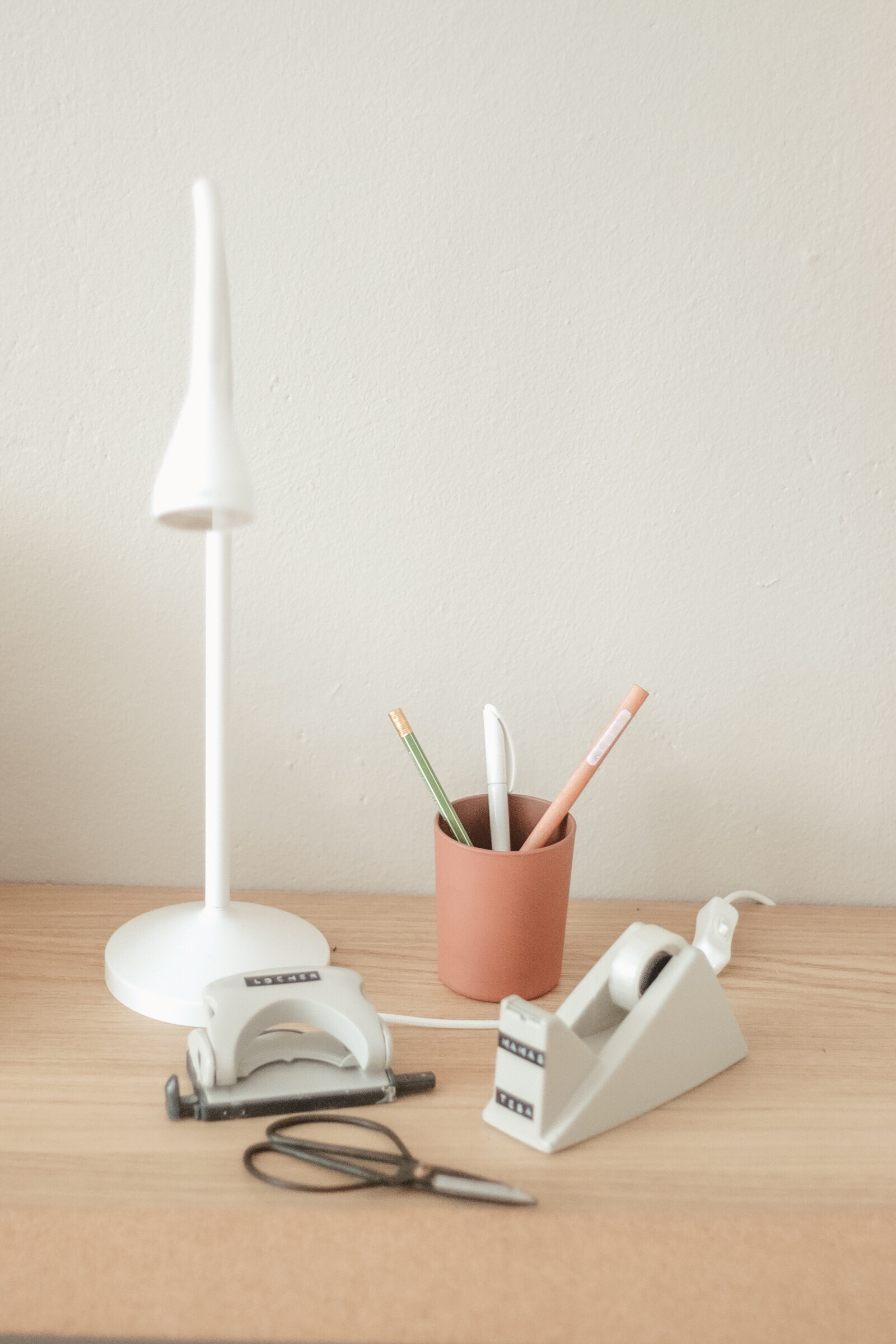 Schreibtisch, Vorher Nachher, Makeover, Büroaccessoires