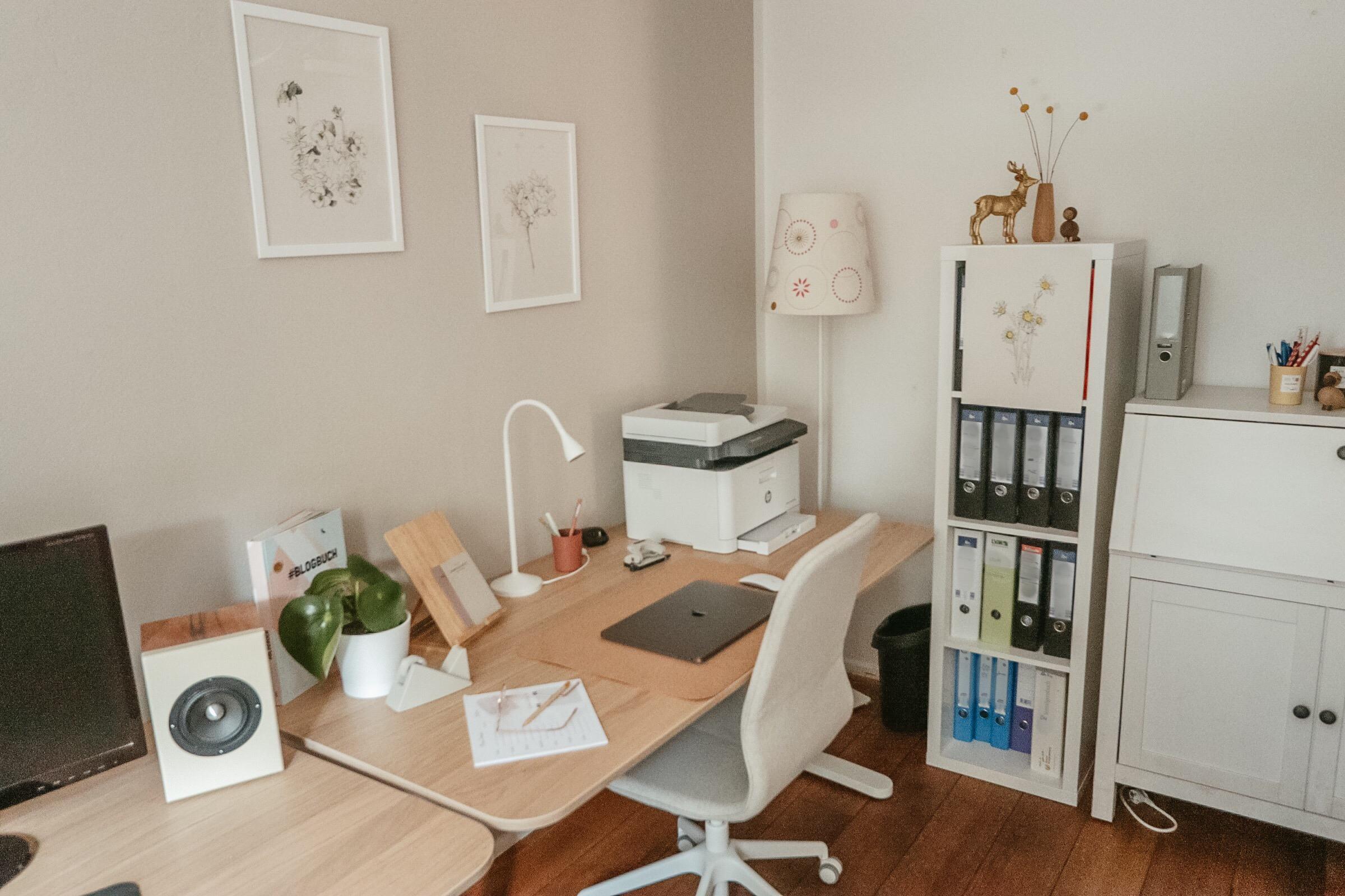 Schreibtisch, Büro,