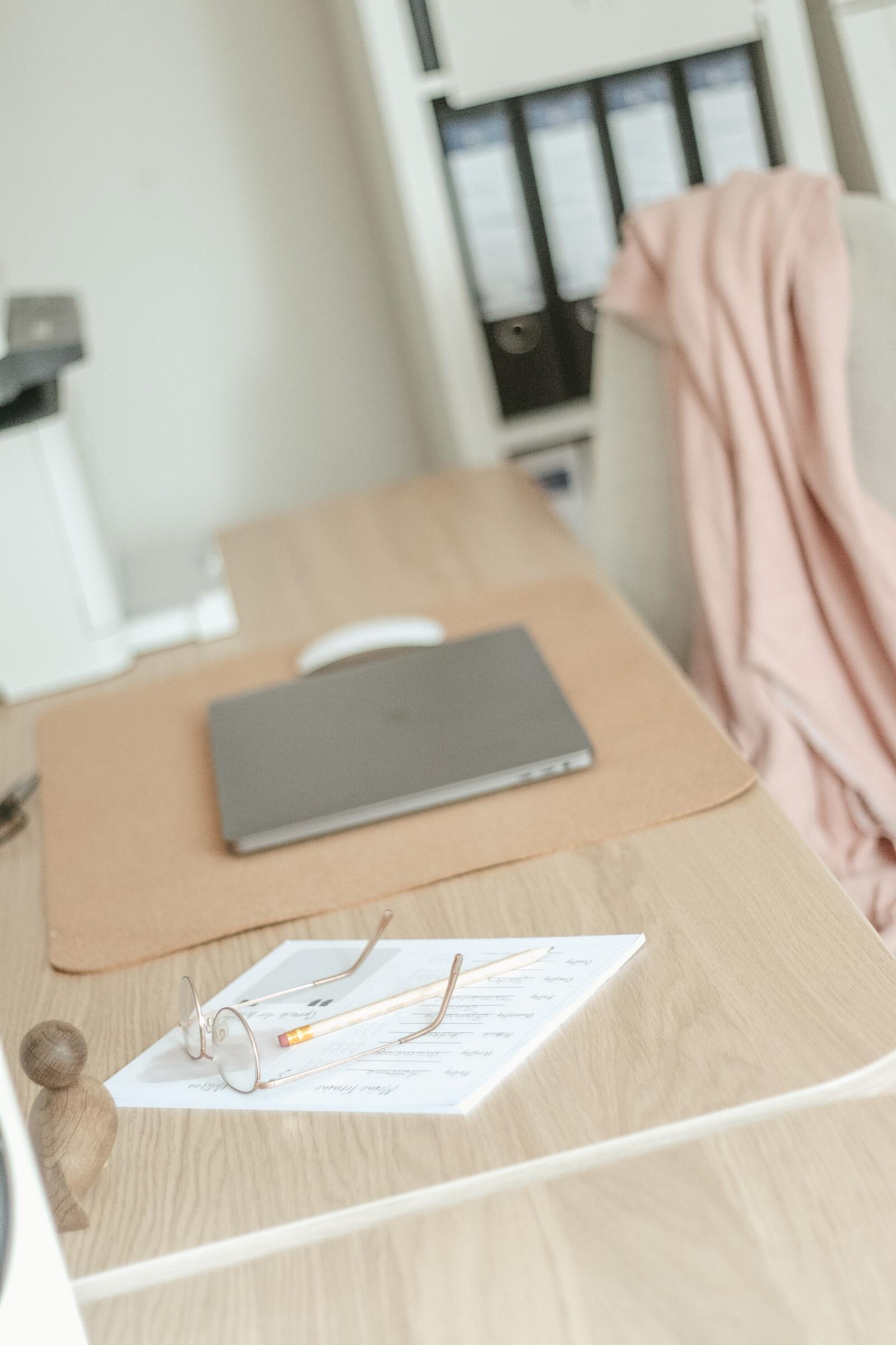 Scand, Büro, Schreibtisch, Makeover